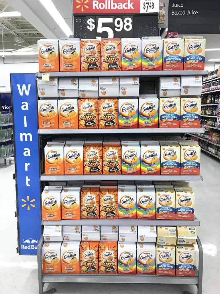 Goldfish at Walmart