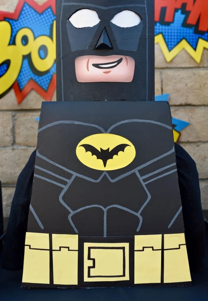 LEGO Batman costume DIY