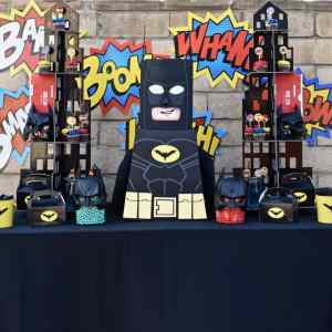 LEGO Batman Party That Will Make Superman Jealous
