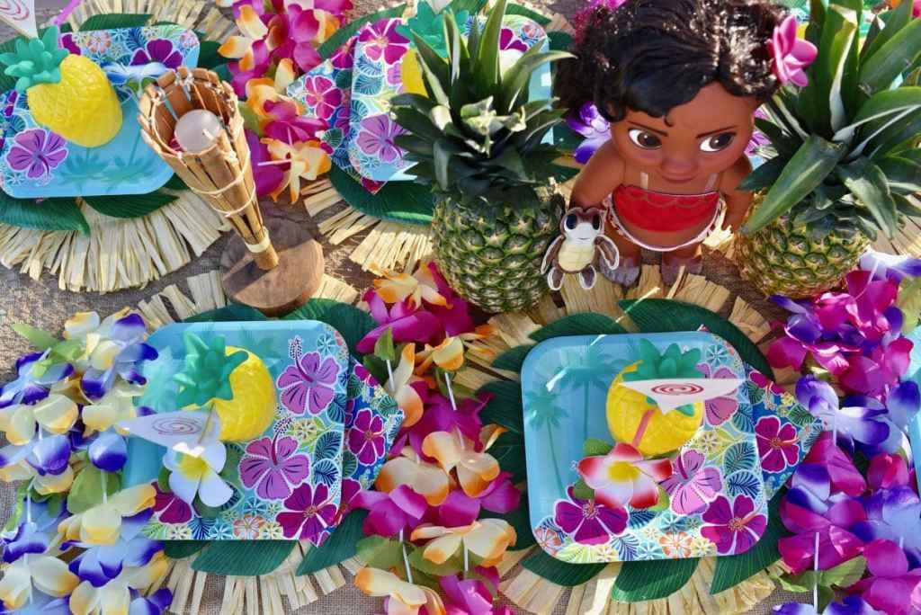 Moana birthday party ideas for a summer luau