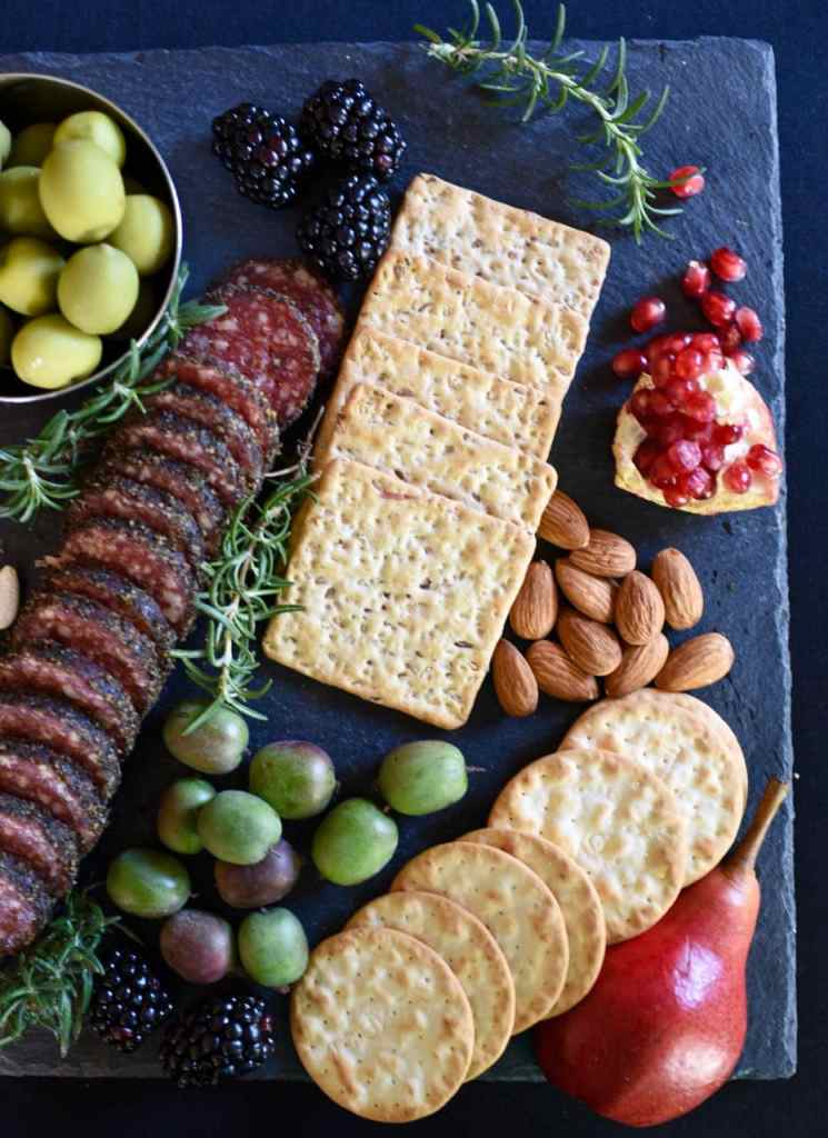Gothic Halloween party and Halloween cheese board