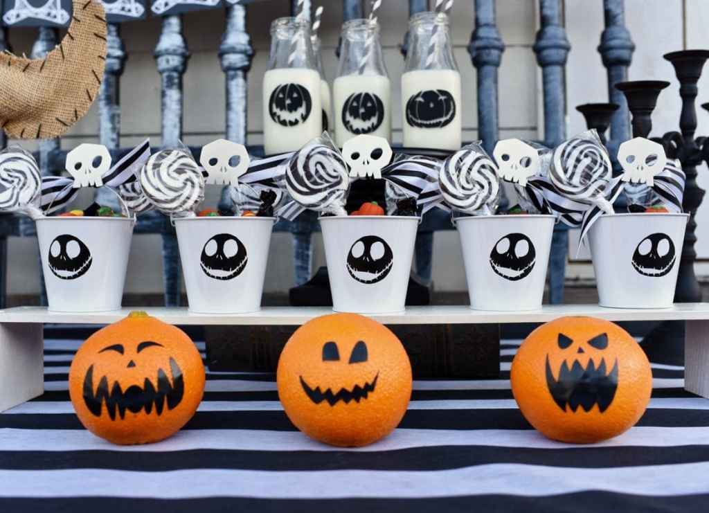 Nightmare Before Christmas Halloween party favors