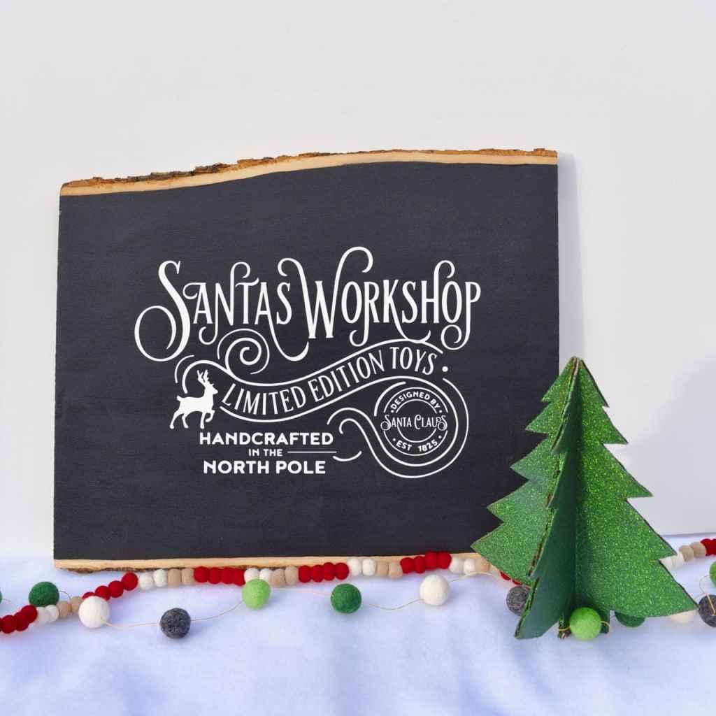 Cardboard Christmas tree decoration