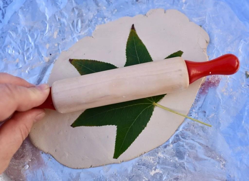 Clay leaf bowls tutorial