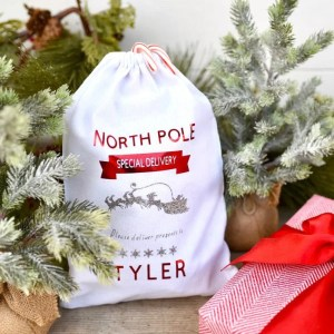DIY Personalized Christmas Sack for Kids