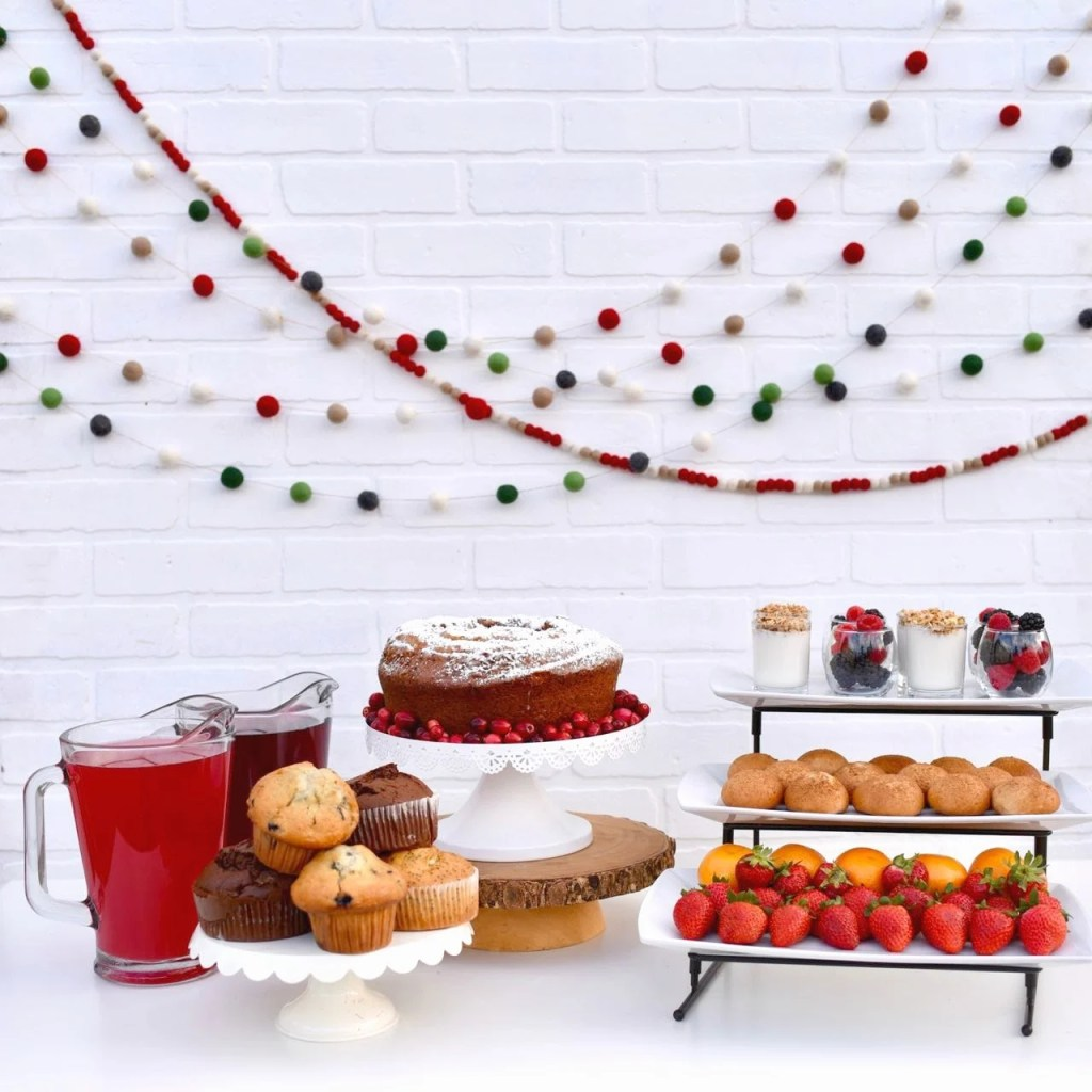 Holiday brunch ideas and gorgeous holiday brunch party