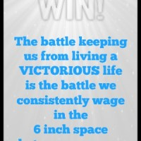 How to Experience Victorious Living::Guest Post