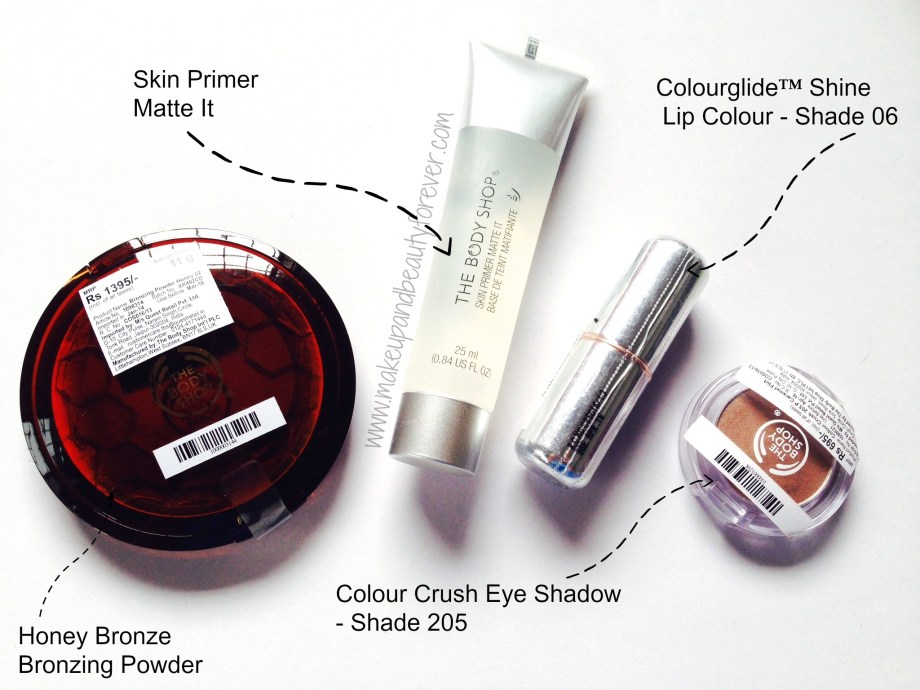 the body shop make up products