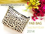 Fab Bag September 2014 – 2nd Anniversary Special