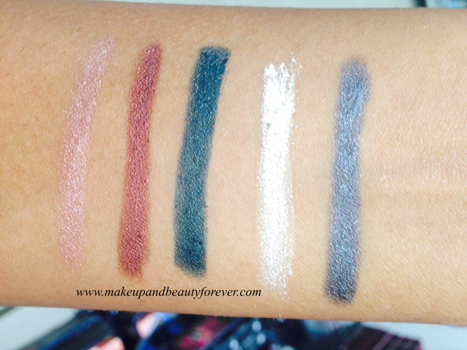 Lakme Absolute Drama Stylist Eye Shadow Crayon Review, Shades, Swatches, Price and Details MBF India