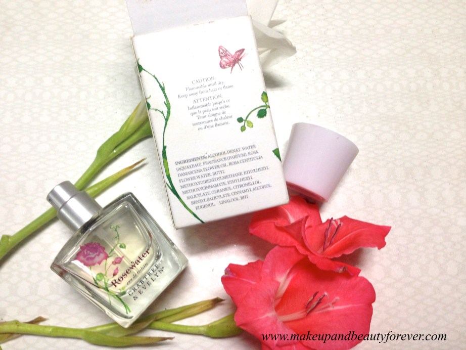 Crabtree & Evelyn Rosewater Eau de Toilette Perfume Review 1