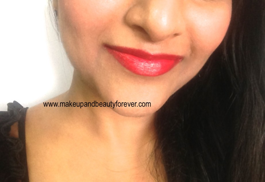 Maybelline Bold Matte Colorsensational Lipstick MAT 5 Bold Red 692 Review, Swatches lip