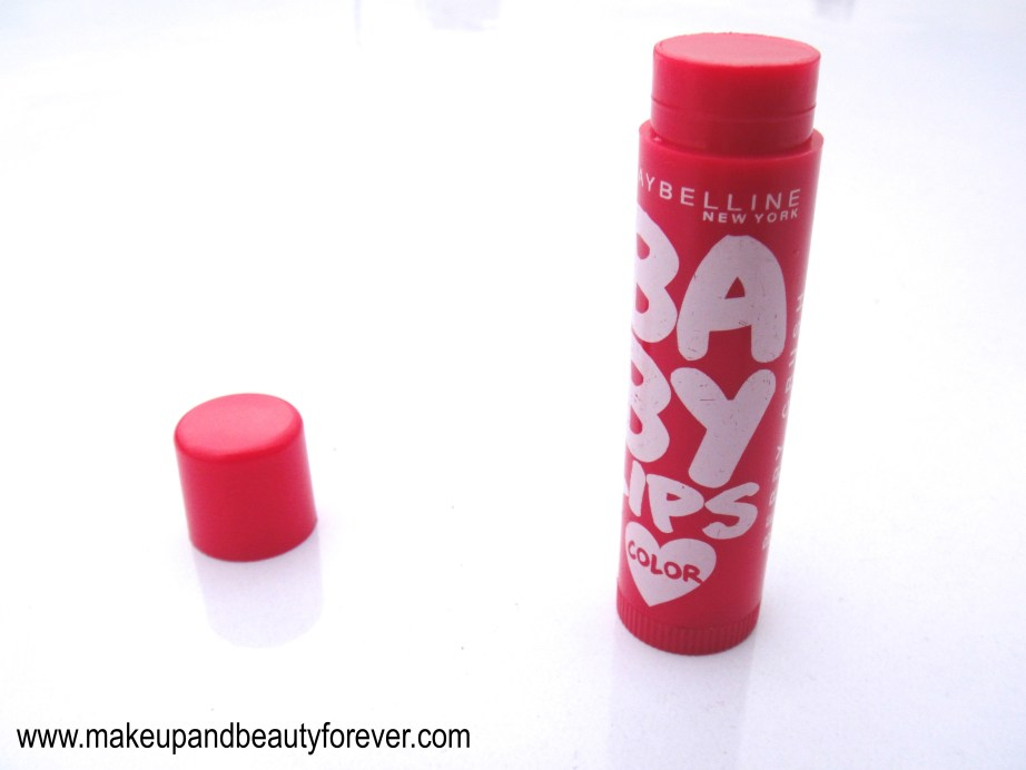 Maybelline Baby Lips Lip Balm Color Berry Crush Review Ingredients