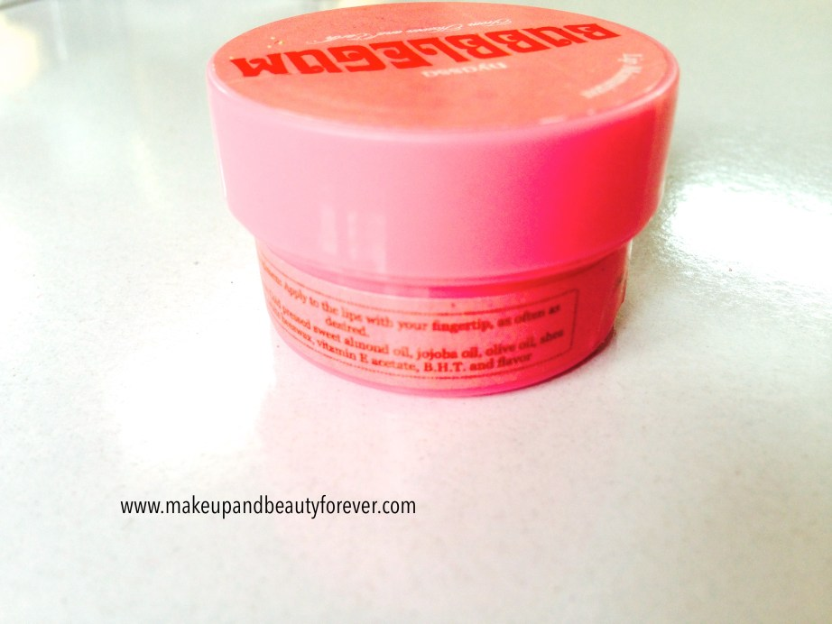 Nyassa Bubblegum Lip Balm Review MBF India
