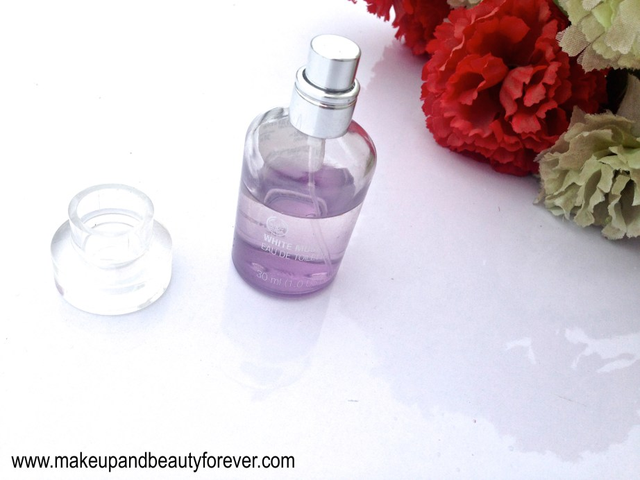 The Body Shop White Musk Eau De Toilette Review 4