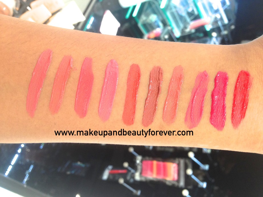 All Colorbar Deep Matte Lip Crème Review Shades Swatches Deep Red Deep Lily Rose Deep Earth Deep Coco Deep Rust Pink Blush Deep Peach Rouge