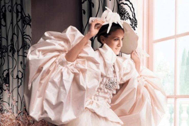 Carrie Bradshaw's Vogue Wedding Dress by Dior