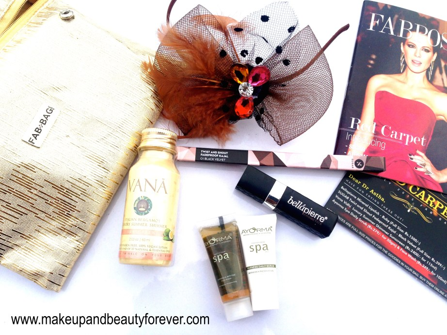 Fab Bag July 2015 Red Carpet Edition 3