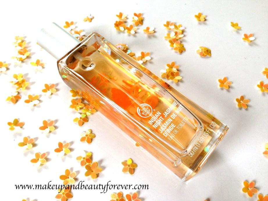 The Body Shop Indian Night Jasmine Eau De Toilette Review Indian Beauty Blog