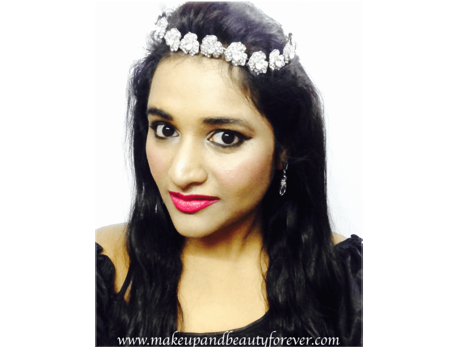 Astha MBF Maybelline New York ColorShow Lipsticks Cherry Crush 207 and Fuchsia Flare 110 Review Makeup