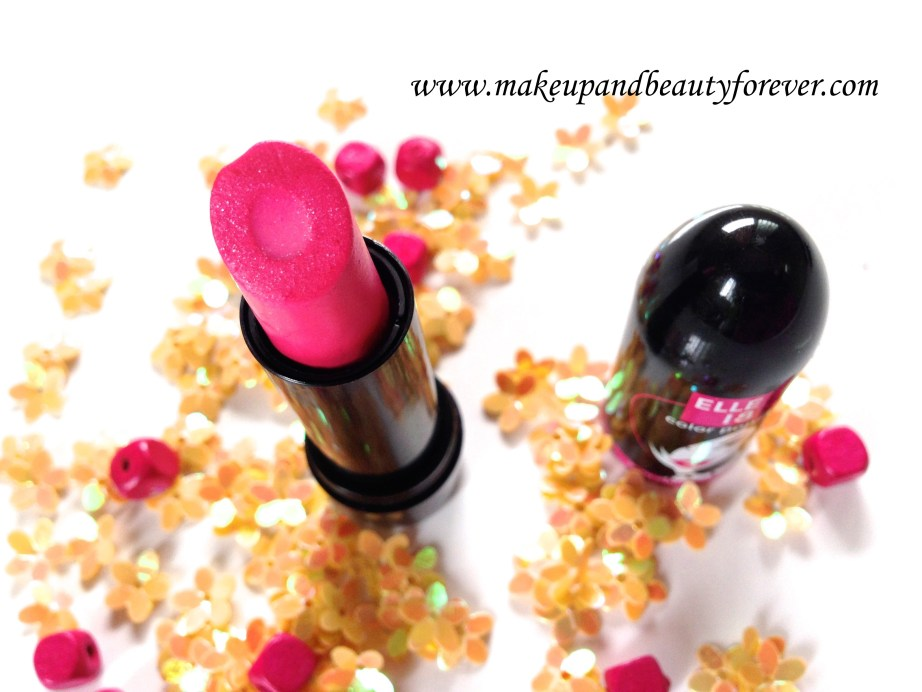 Elle 18 Color Pops Lipstick Wow Pink 51 Review Swatch
