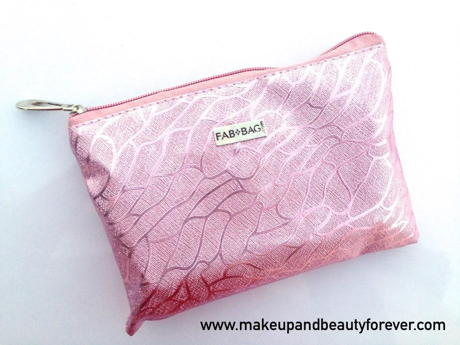 Fab Bag August 2015 Cast A Spell Pink Bag