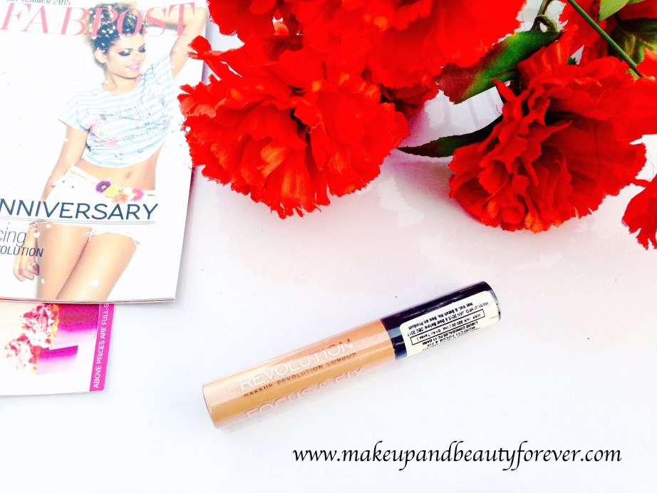 Make up Revolution Focus and Fix Liquid Concealer