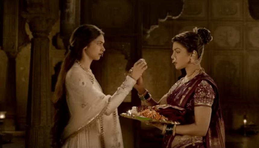 Bajirao Mastani Deepika Padukone Priyanka Chopra Haldi Kumkum