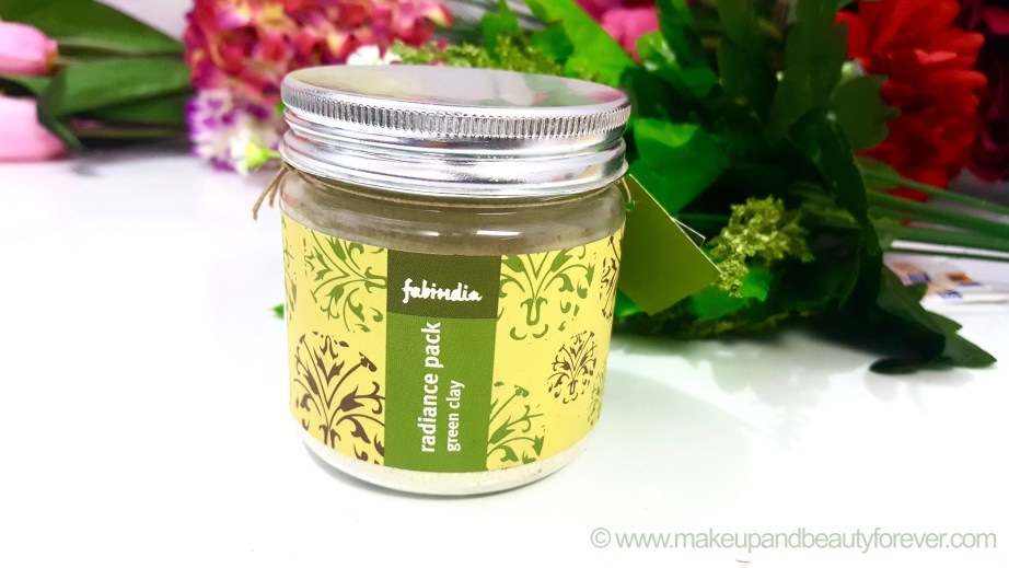 Fabindia Radiance Face Pack Green Clay Review