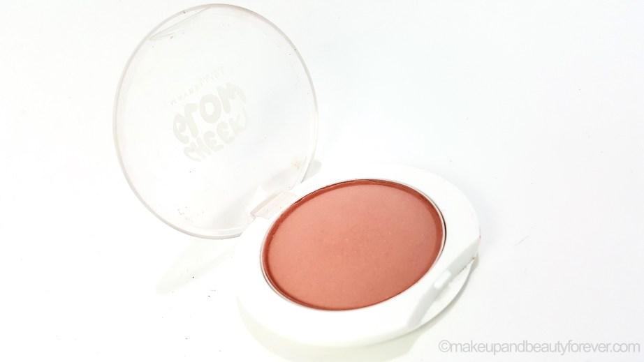 Maybelline Cheeky Glow Blush Creamy Cinnamon Review MBF