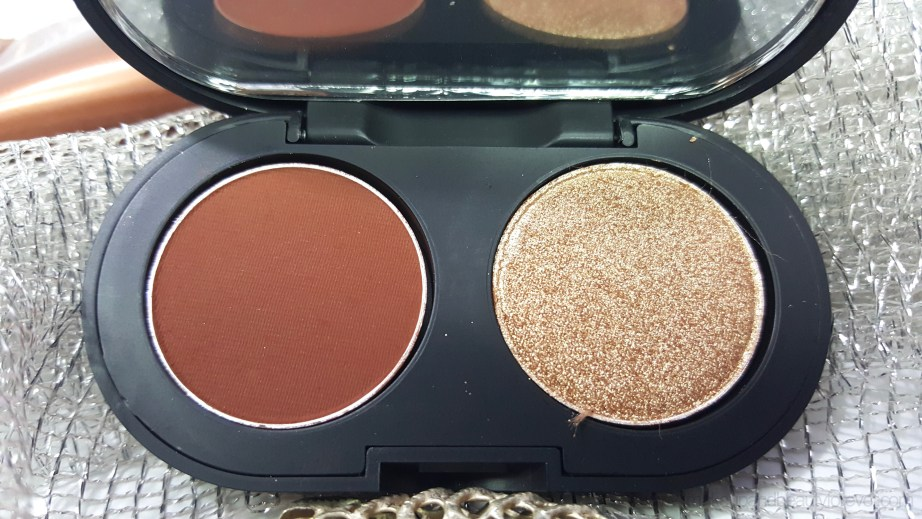 SeaSoul Makeup HD Eyeshadow Palette SS22 Brown Gold Review Swatches