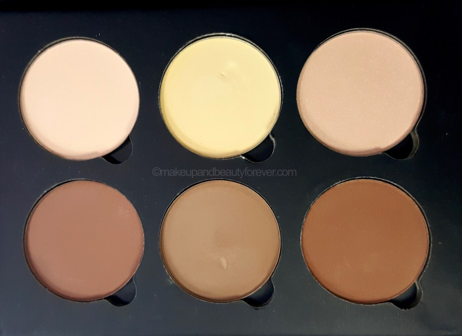 Anastasia Beverly Hills Contour Kit Light Medium Review vanilla Banana sand java fawn havana