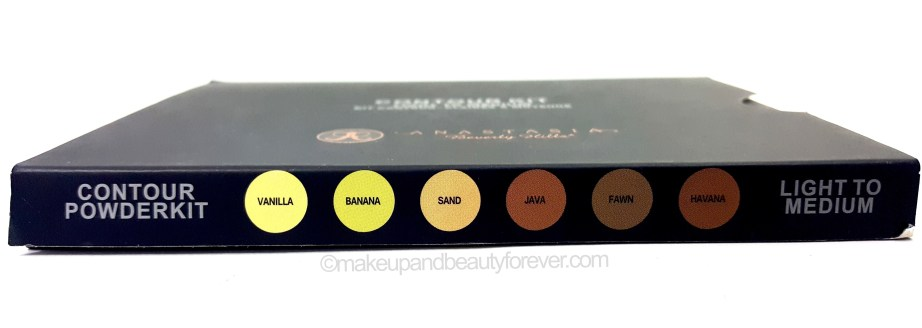 Anastasia Beverly Hills Contour Kit Light Medium shade names