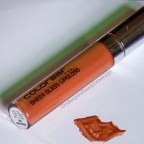 Colorbar Sheer Glass Lipgloss Brown Sheen Review LOTD beauty blog