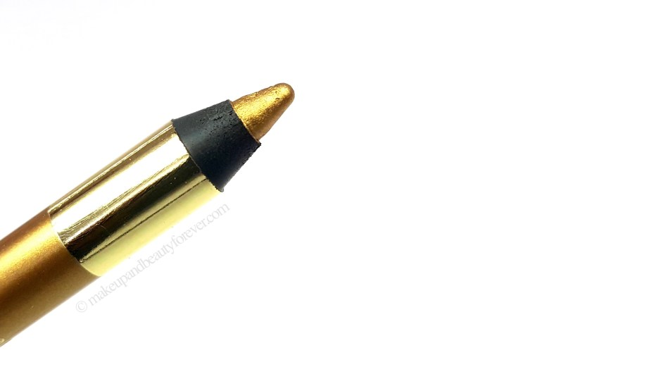 L'Oreal Infallible Silkissime Eyeliner Gold Review Swatches