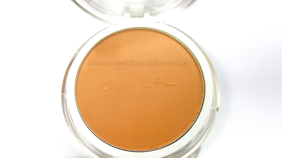 L'Oreal Mat Magique Compact Powder Shades Review golden amber G 7