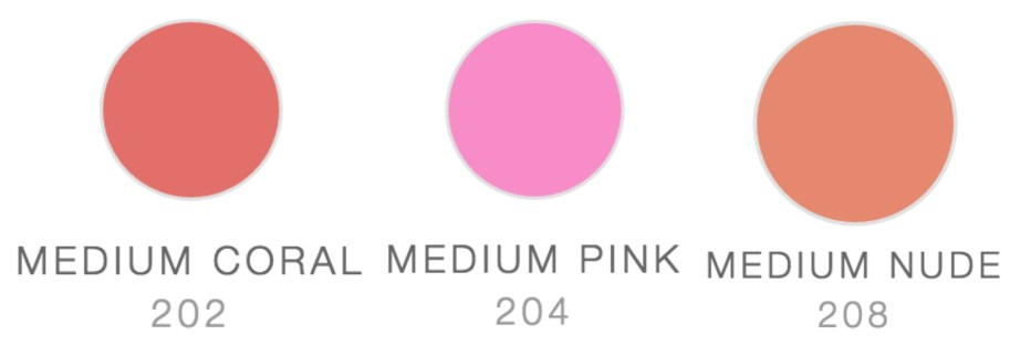 Maybelline Fit Me Blush Medium Coral 202 Medium Pink 204 Medium Nude 208 Review Swatches