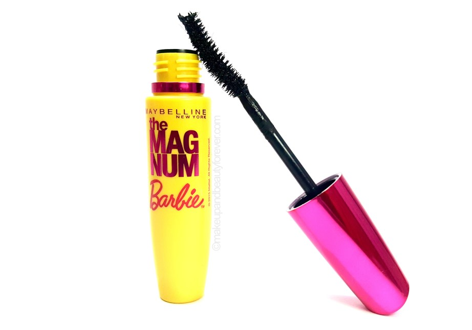 Maybelline Magnum Barbie Mascara Review USA