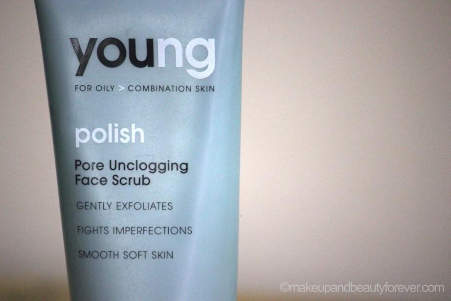 Natio Young Polish Pore Unclogging Face Scrub Review zoom in