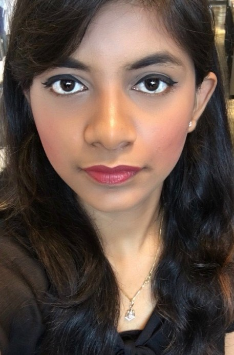 Colorbar Velvet Matte Lipstick Over The Top 1 Review Swatches makeup look