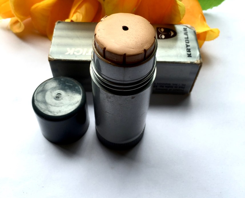 Kryolan TV Paint Stick Foundation Review Shades Swatch