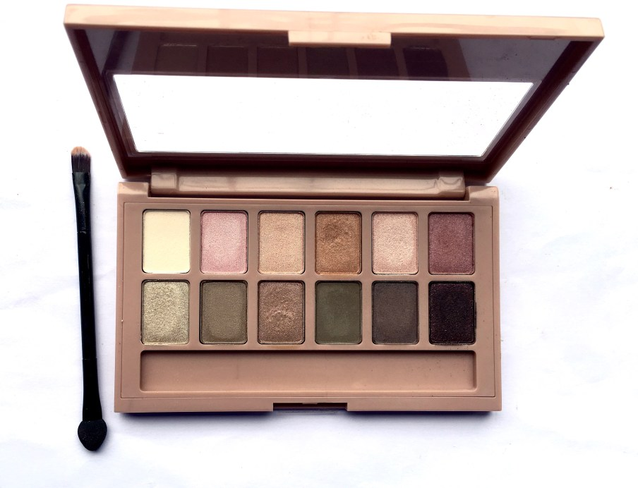 Maybelline The Blushed Nudes Palette Review Swatches Makeup makeup beauty blog