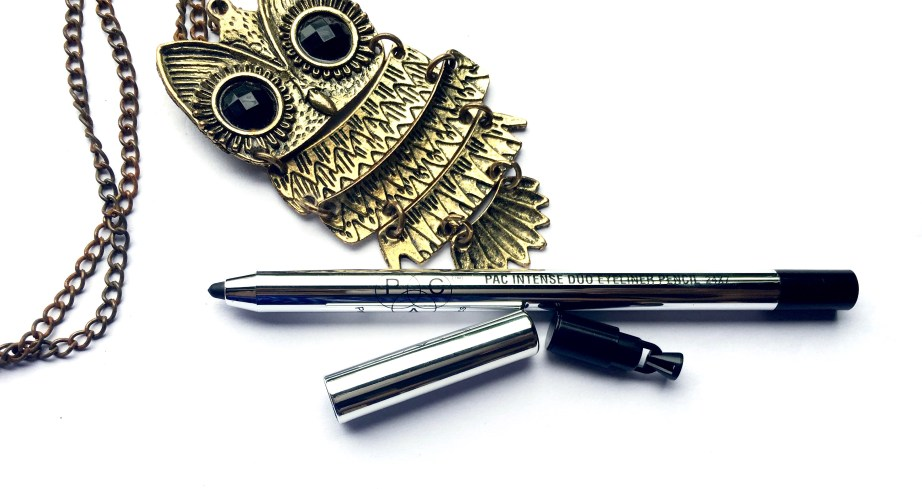 PAC Intense Duo Eyeliner Pencil Review Swatches makeup beauty blog