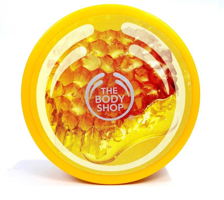 The Body Shop Honeymania Cream Body Scrub Review mbf beauty blog