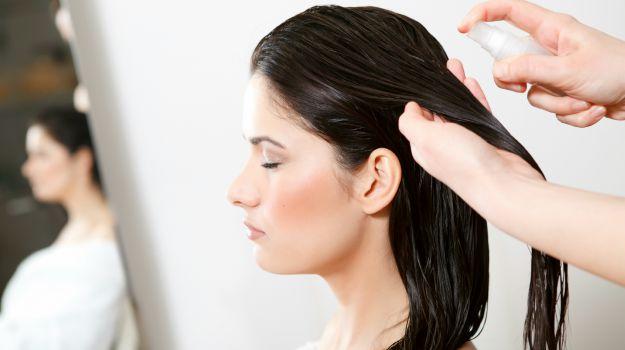 no anti tangle anti frizz spray for hair