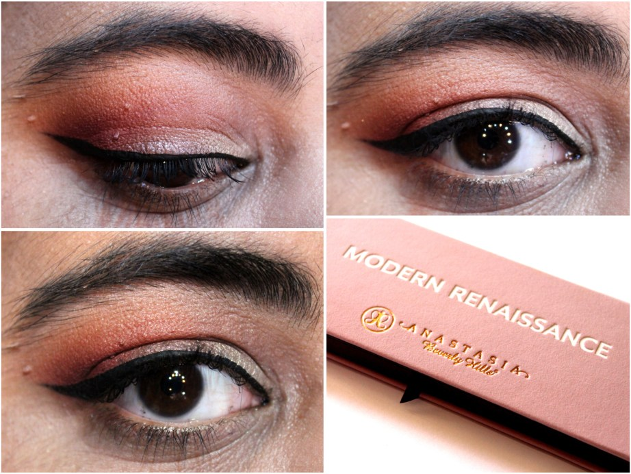 Anastasia Beverly Hills Modern Renaissance Palette Review Swatches MBF Eye Makeup Look