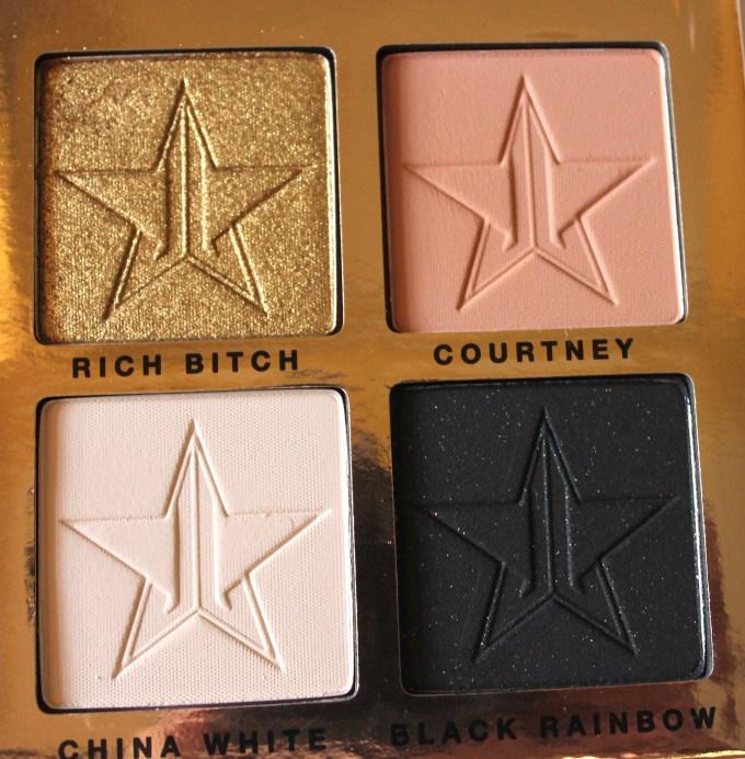 Jeffree Star Beauty Killer Palette Review Swatches quad 4