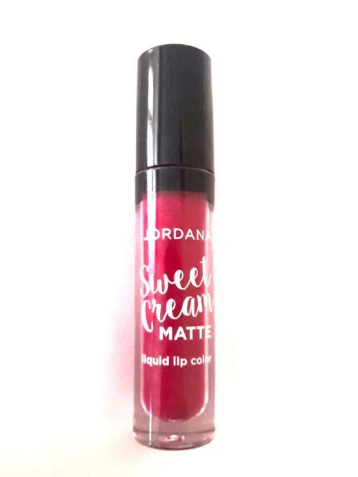 Jordana Sweet Cream Matte Liquid Lipstick Sugared Plum Review Swatches near