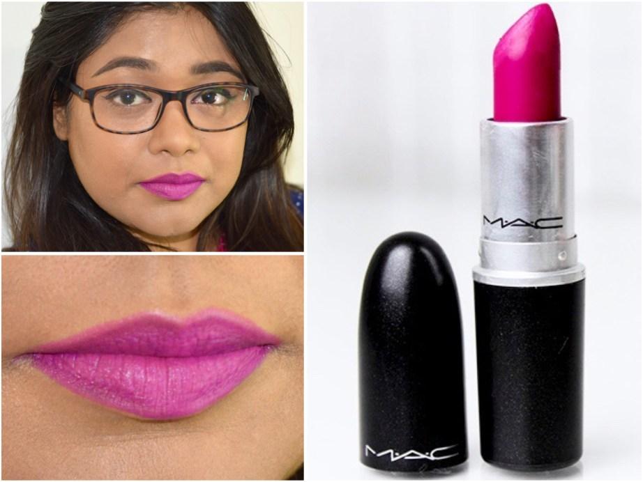 MAC Flat Out Fabulous Retro Matte Lipstick Review Swatches