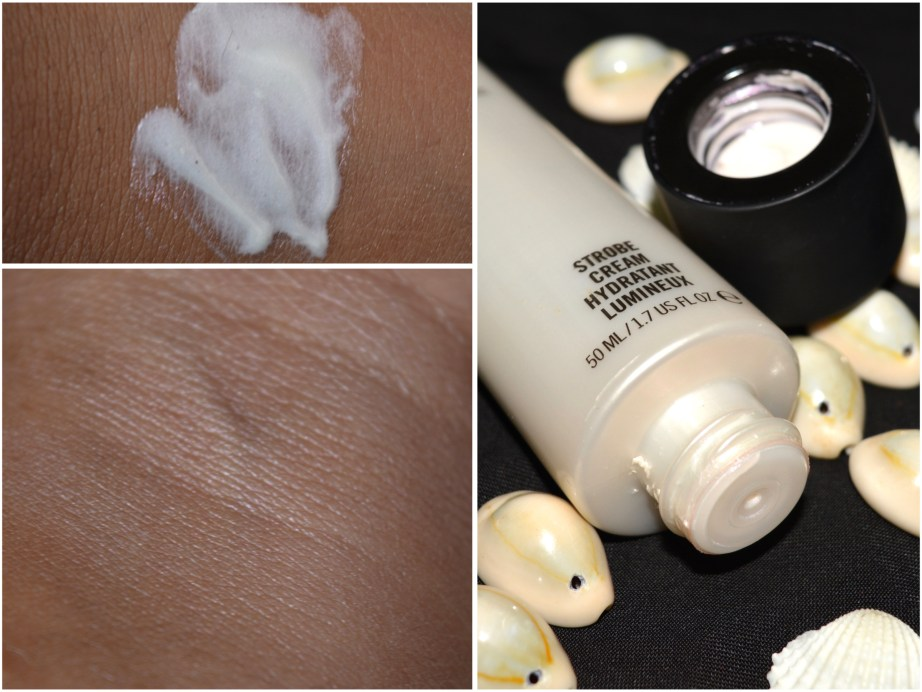 MAC Strobe Cream Review Swatches Demo Makeup Beauty Blog